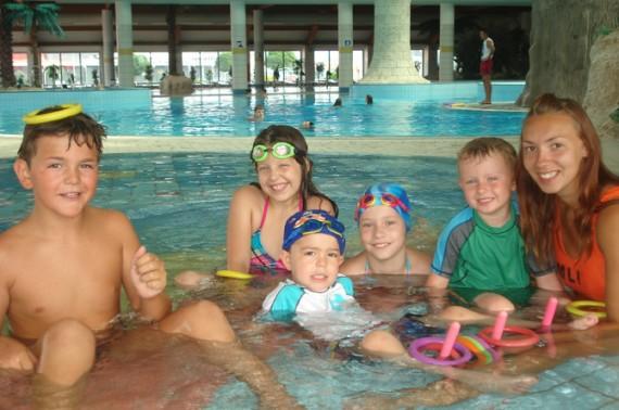 Plivacki kampus, djeca od cetri godine