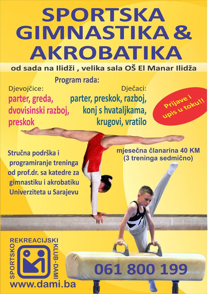 Sportska gimnastika i akrobatika
