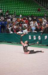 Ritmicka gimnastika, nastup